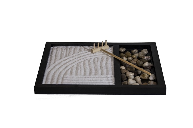 Desktop Zen Garden (Incl rake, sand and rocks)